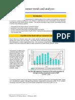 BFAP BASELINE 2009 Part 2 Consumer Trends