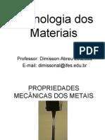 Aula_2_-_Propriedades_Mecânicas_dos_Materiais