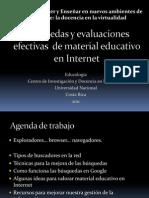 Busquedas Efectivas de Material Educativo en Internet