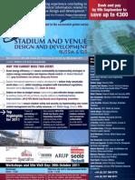 Stadium and Venue Design Development Brochure