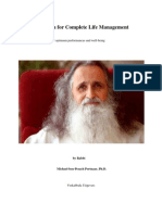 Kabbalah for Complete Life Management
