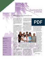 SAFFRON Newsletter - Summer 2008