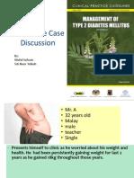 Interactive Case Discussion Diabetes