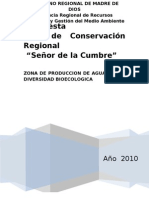 AREA_CONSERVACION_REGIONAL SEÑOR DE LA CUMBRE