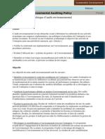 Politique Envir Audit_FR