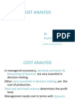 Cost Analysis 1