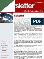 Newsletter T&P N°50 Eng