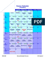 Course Calendar(1)
