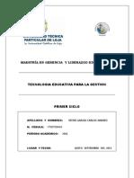 SOCIEDAD DE INFORMACION - ANDRES VITERI - UTPL