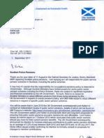 John Swinney Scottish Police Pensions