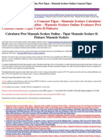 Manuale Scolare Online Calculator Preturi Tipar Digital - Manuale Scolare 2011 Manuale Scolare Tipar Carte
