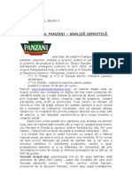Analiza Semiotica a Brand-Ului Panzani