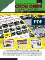 Sept 1 2011 Auction Guide