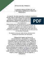 Articulos de Trabjo Alejandra