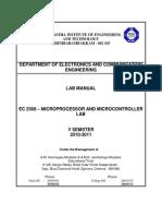 EC2308 Lab Manual