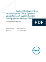 OSD on Dell Enterprise Client Systems Using SCCM 2007