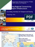 Hong Kong Enhancing Regional Connectivity