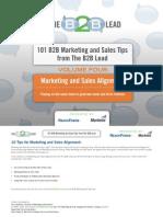 eBook Vol4 Marketing and Sales Alignment