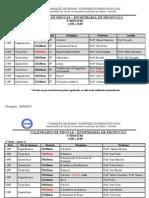 111-28-     Calendário de Provas 3º Bim