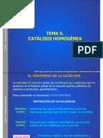 CATALISIS HOMOGENEA