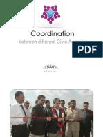 Coordination Between Different Civic Agencies