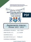 REGLAMENTO INTERNO 2011 - 2013