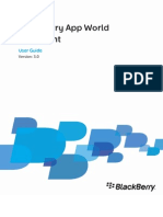 BlackBerry App World Storefront Version 3.0 User Guide