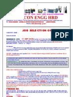 Job Selection Order