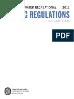 2011-2012 Saltwater Regulations