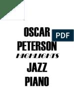 (Piano) Oscar Peterson - Jazz Piano - Studi Facili #####