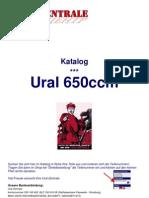 Manual Ural 650ccm