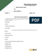 Model Question Paper-MC0075