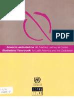 Anuario estadístico - CEPAL