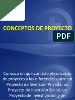 CONCEPTOS DE PROYECTO...