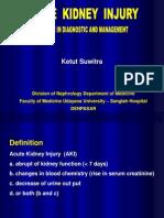 Acute Kidney Injury (Kuliah Khusus, Sabtu 13 Sep 08)