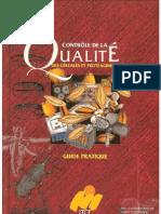 Guide Pratique de Cntrôle de la Qualité des Céréales et  Protéagineux