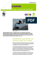 Out of the Bunker: Time for a fair deal on shipping emissions