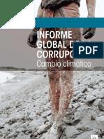Informe Global de la Corrupción - Cambio Climático