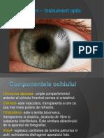 Ochiul uman – Instrument optic
