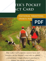 NSSF Hunter Facts Card