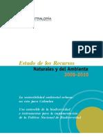 Estado de Los Recursos Naturales y El MedioAmbiente 2009-2010