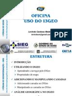 Oficina SIG OnLine i3geo