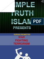 18. Quran Promotes Fighting,War and Terrorism