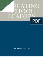 Educating School Leaders
