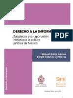 Libro Derecho a La ion en Zacatecas[1]