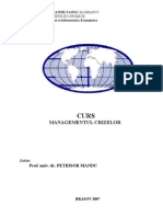 Managementul Crizelor Mandu Petrisor
