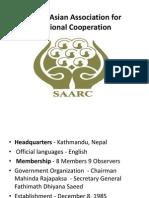 South Asian Association for Regional SAARC