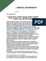 Brócolis Vegetal de Respeito - Nutrição - Medicina Preventiva