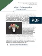 Aprendizaje de Lenguas Asistido Por or 2.