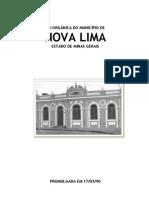 Lei Org Nova Lima